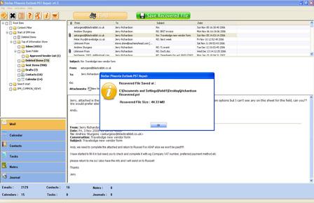 recuparar archivos pst con Stellar Outlook Repair